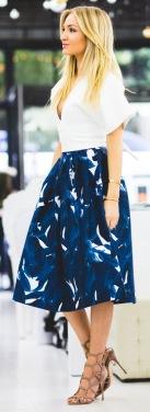 Kookai Skirt + Shutz Heels